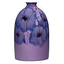 Buy Poole Pottery Jasmine Medium Oval Bottle Vase Online at johnlewis.com