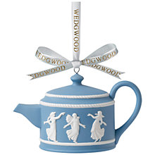 Buy Wedgwood Teapot, Blue and White Online at johnlewis.com
