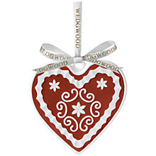 Buy Wedgwood Heart Decoration Online at johnlewis.com