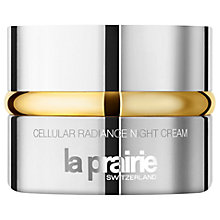 Buy La Prairie Cellular Radiance Night Cream, 50ml Online at johnlewis.com