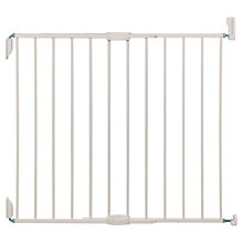 Buy Lindam Extending Metal Tilt Baby Gate, White Online at johnlewis.com