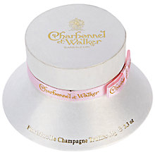 Buy Charbonnel et Walker Pink Champagne Truffles Ladies Hat Box, 65g Online at johnlewis.com