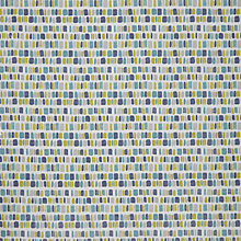 Buy John Lewis Paint Dashes PVC Tablecloth Fabric, Blue Online at johnlewis.com