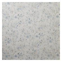 Buy John Lewis Wilton Floral Fabric, Blue Online at johnlewis.com