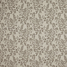 Buy John Lewis Delamere Fabric, Brown Online at johnlewis.com