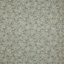 Buy John Lewis Aniya Fabric, Blue Online at johnlewis.com