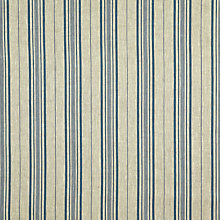 Buy John Lewis Botanica Stripe Fabric, Blue Online at johnlewis.com