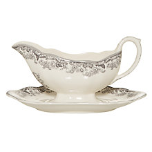 Buy Spode Rural Delamere Sauceboat & Stand Online at johnlewis.com