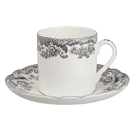 Buy Spode Rural Delamere Espresso Cup & Saucer Online at johnlewis.com