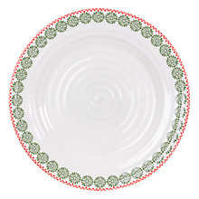 Buy Sophie Conran for Portmeirion Christmas Snowflake Dinner Plate Online at johnlewis.com
