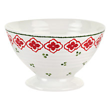 Buy Sophie Conran for Portmeirion Christmas Footed Bowl Online at johnlewis.com