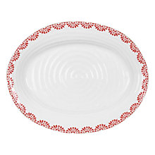 Buy Sophie Conran for Portmeirion Christmas Oval Plate Online at johnlewis.com