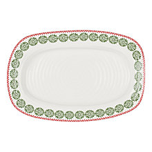 Buy Sophie Conran for Portmeirion Christmas Sandwich Tray Online at johnlewis.com