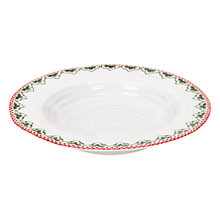 Buy Sophie Conran for Portmeirion Christmas Soup Plate Online at johnlewis.com