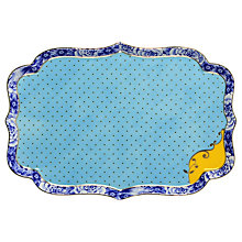 Buy PiP Studio Royal PiP Blue Tray Online at johnlewis.com