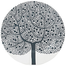 Buy Royal Doulton Fable Tree Dessert Plate, Grey Online at johnlewis.com