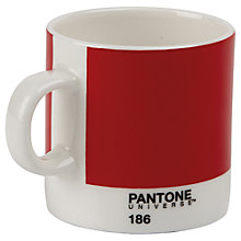 Buy Pantone Espresso Mug, Ketchup Red Online at johnlewis.com