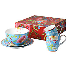 Buy PiP Studio Chinese Garden Cups and Saucers, Set of 5 Online at johnlewis.com