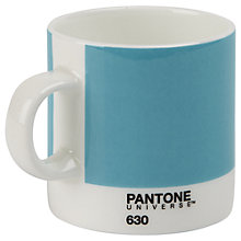 Buy Pantone Espresso Vintage Mug, Blue Online at johnlewis.com