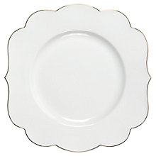 Buy PiP Studio Royal Cake Plate, Dia.17cm, White Online at johnlewis.com