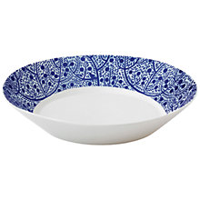 Buy Royal Doulton Fable Pasta Bowl, Dia.23cm, Blue Online at johnlewis.com