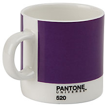 Buy Pantone Espresso Juice Mug, Grape Online at johnlewis.com