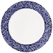Buy Royal Doulton Fable Tree Dinner Plate, Blue Online at johnlewis.com