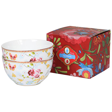 Buy pip studio chinese rose bowls set of 2 john lewis - Pip studio espana ...