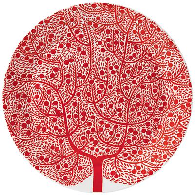 Royal Doulton Fable Platter, Dia.32cm, Red