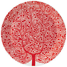 Buy Royal Doulton Fable Platter, Dia.32cm, Red Online at johnlewis.com