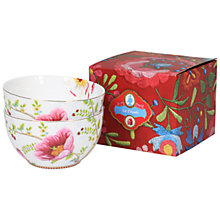 Buy PiP Studio Chinese Rose Bowls, Set of 2 Online at johnlewis.com