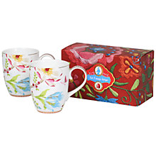 Buy PiP Studio Chinese Garden Mugs, Set of 2 Online at johnlewis.com