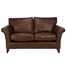 Buy John Lewis Charlotte Medium Leather Sofa, Rialto Burn Online at johnlewis.com