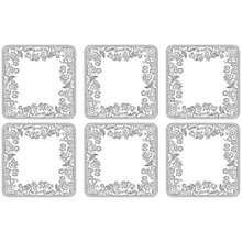 Buy Spode Rural Delamere Coasters, Set of 6 Online at johnlewis.com