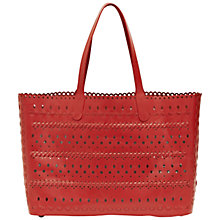 Buy French Connection Mae Leather Tote Bag Online at johnlewis.com