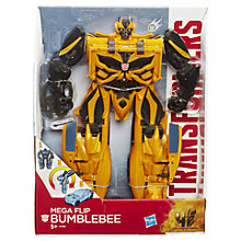 Buy Transformers 4: Age Of Extinction Mega 1-Step Flip Bumblebee Figure Online at johnlewis.com