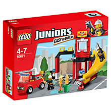 Buy LEGO Juniors Fire Emergency Online at johnlewis.com