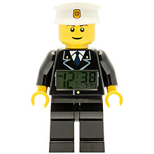 Buy LEGO City Police Clock Online at johnlewis.com