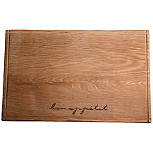 Buy Bon Appetit Rectangular Serving Board Online at johnlewis.com