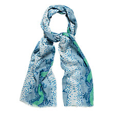 Buy Jaeger Snake Modal Scarf Online at johnlewis.com