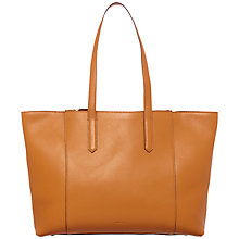 Buy Jaeger Hayley Tote Handbag, Caramel Online at johnlewis.com