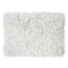 Buy John Lewis Croft Collection Faux Fur Cushion Online at johnlewis.com