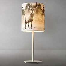 Buy John Lewis Photographic Stag Table Lamp Online at johnlewis.com