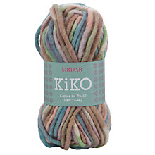 Buy Sirdar Kiko Super Chunky Yarn, 50g Online at johnlewis.com