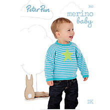 Buy Wendy Peter Pan Baby Brights Knitting Pattern Book Online at johnlewis.com