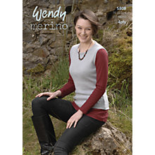 Buy Wendy Merino 4 Ply Lealfet, 5808 Online at johnlewis.com