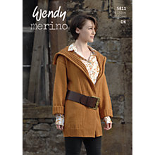 Buy Wendy Merino DK Knitting Pattern, 5811 Online at johnlewis.com