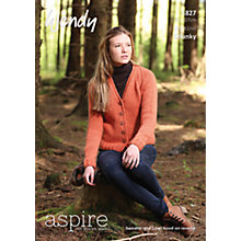 Buy Wendy Chunky Knitting Pattern, 5827 Online at johnlewis.com