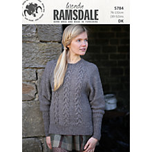 Buy Wendy DK  Knitting Pattern, 5784 Online at johnlewis.com
