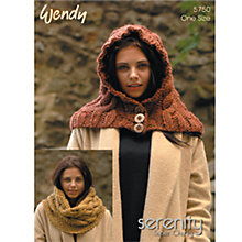 Buy Wendy Chunky Knitting Pattern, 5750 Online at johnlewis.com